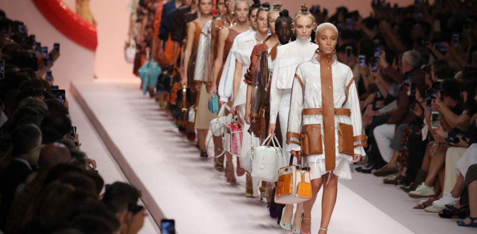 Fendi - Runway - Milan Fashion Week Spring/Summer 2019