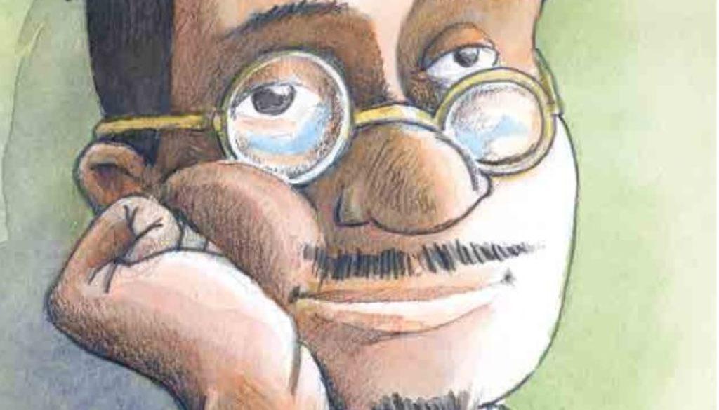 Luomo-che-sognava-gli-struzzi-Illustrazione-di-GioMo