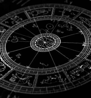 Horoscope wheel chart